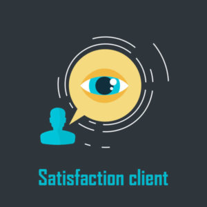 Satisfaction clients