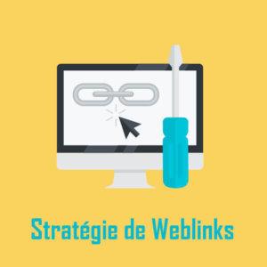 Stratégie de weblinks