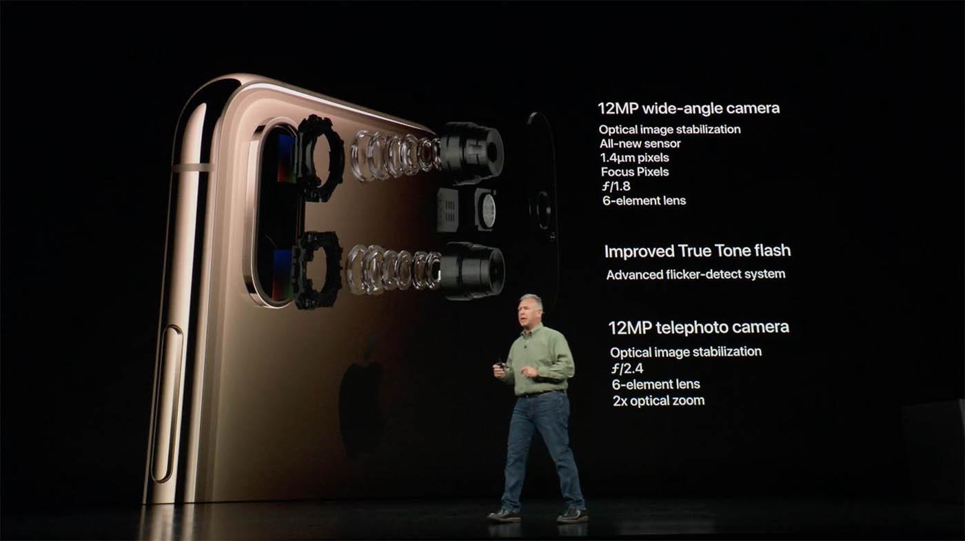 iPhone XS & XR : en photo, Apple mise tout sur le processeur