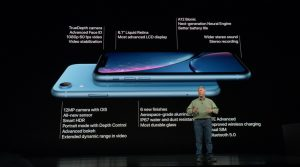 iPhone XR, le petit frère abordable de l'iPhone XS