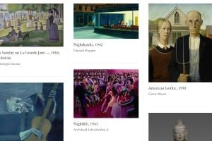 Des milliers d'œuvres en HD sur le site de l'Art Institute de Chicago