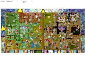 Trouvez votre chemin dans les jeux vidéo avec ces cartes interactives