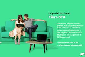 """Red by SFR propose la fibre à 1 Gbit/s pour 20 euros par mois """"à vie"""""""
