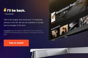 Tubi, l'équivalent gratuit de Netflix, pourrait arriver en France