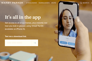 Une appli en réalité augmentée pour tester des lunettes avant de les acheter