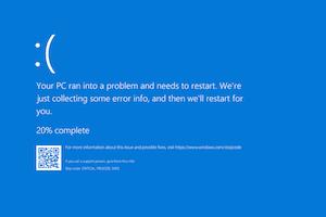Windows 10 affichera des messages d'erreur plus clairs